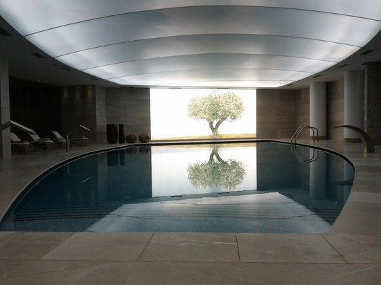 Cavo Olympo Luxury Hotel & Spa - Adult Only: Εσωτερική θερμενόμενη πισίνα SPA