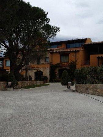 Can Xiquet: arriver devant l'hôtel