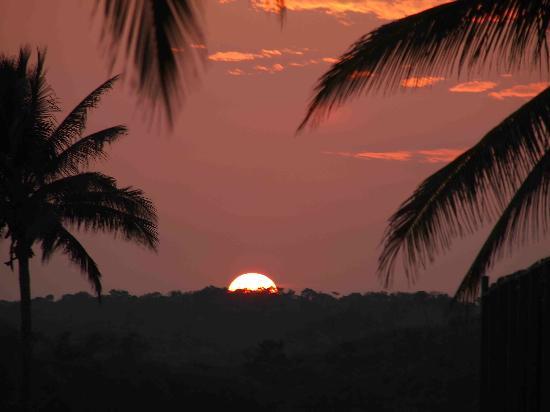 Tenacatita, Mexico: sunset
