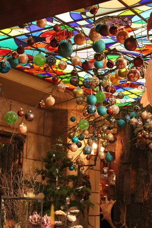 Hotel Estherea: Lovely christmas decorations