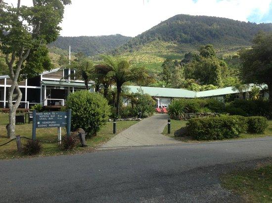 Raetihi Lodge Restaurant : Lodge entrance