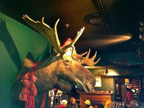 Christmas Moose at Broad Arrow Tavern