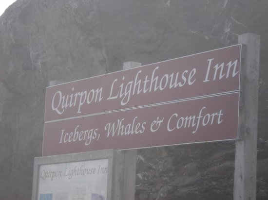 Quirpon Lighthouse Inn: Where to park on the mainland