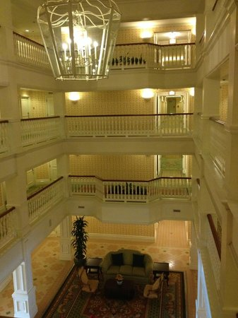 Disney's Grand Floridian Resort & Spa: Interior do prédio Big Pine Key