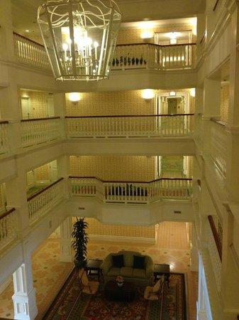 Disney's Grand Floridian Resort & Spa: Interior do prédio Big Pine Key 