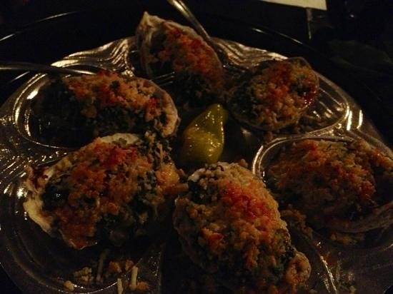Memories & More Restaurant and Piano Bar: oyster's Rockefeller