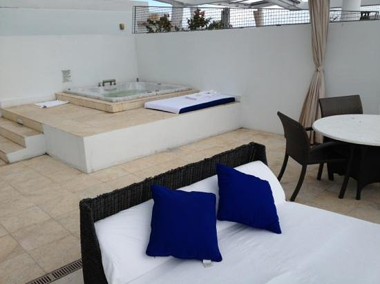 Z Ocean Hotel South Beach : our private terrace