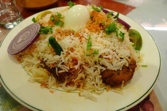 Flavor Of India : Hyderabad Chicken Biryani