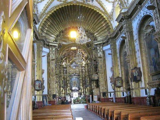 Basílica de Nuestra Señora de Ocotlán: In the basilica.