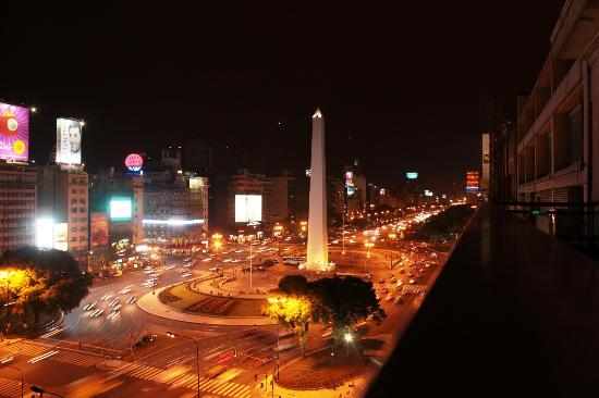 NH Buenos Aires Tango: View from terrace