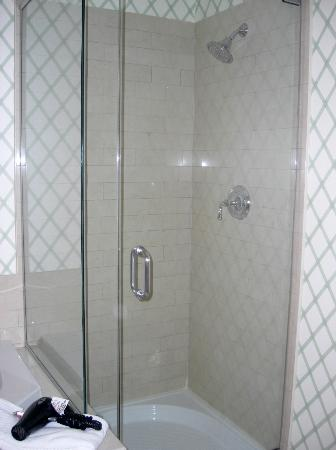 Lake Opechee Inn and Spa: Room 129 shower