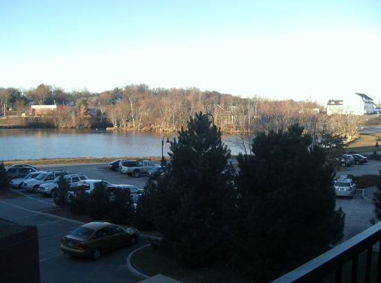 Lake Opechee Inn and Spa: View from Balcony room 129