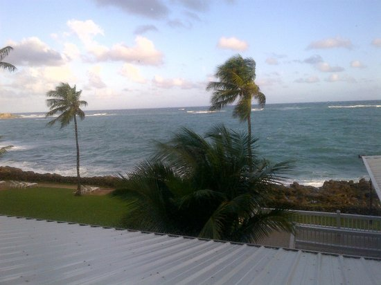 The Condado Plaza Hilton: View from Cafe Caribe restaurant