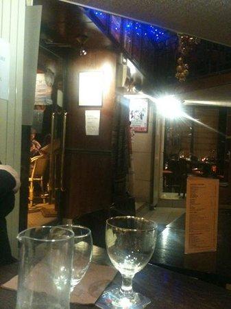 A La Place Saint Georges: dal tavolo
