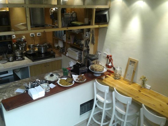 Ha'Agas 1: the lower part + the kitchen