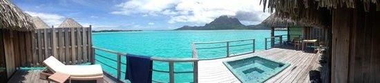 The St. Regis Bora Bora Resort: Overwater Bungalow with Jacuzzi