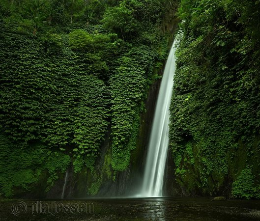Tabanan, Indonesia: Blahmangton Waterfall, Bali.Photo by Pia Jessen