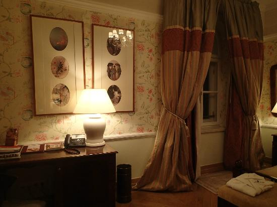 The Bonerowski Palace: Desk & window in bedroom