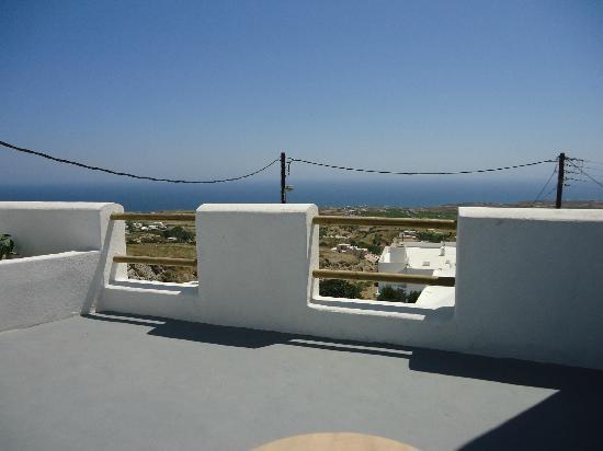 Villa Murano: terrazzo privato con vista mare della stanza doppia all'ultimo piano