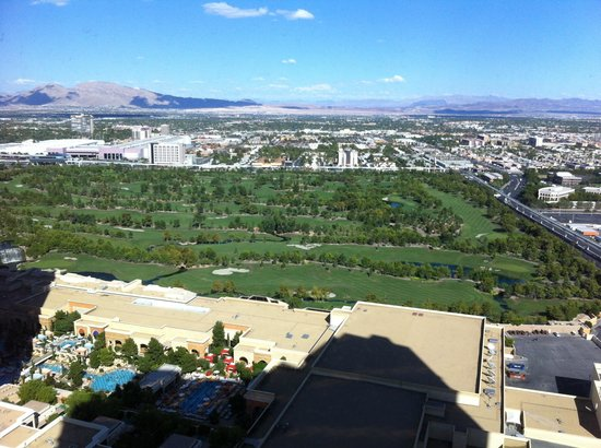 The Palazzo Resort Hotel Casino: Our view
