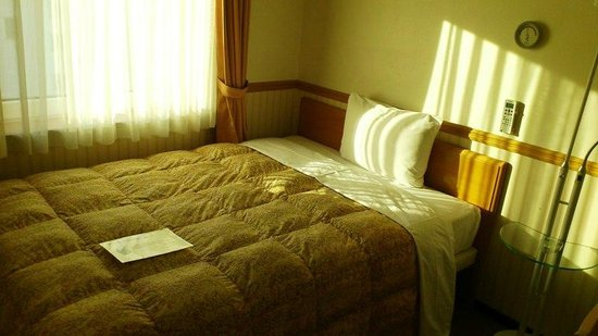 Toyoko Inn Busan Seomyeon: シングルルーム(禁煙)のベッド