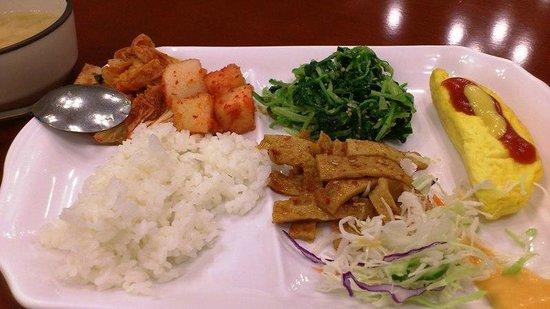 Toyoko Inn Busan Seomyeon: 朝食