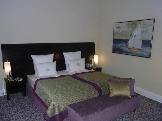 Hotel Atlantic Kempinski Hamburg: Unser Zimmer (Deluxe)