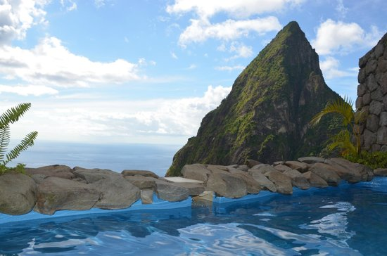 Ladera Resort: View from our pool