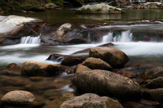 Smoky Bear Campground & RV Park: Small Waterfall in the Smokies