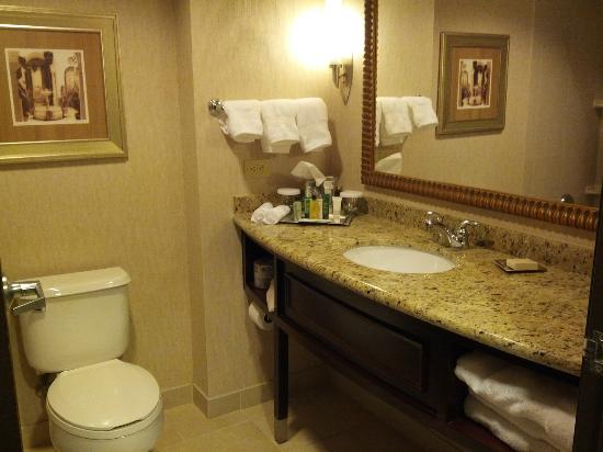 Hilton Dallas/Southlake Town Square: Bathroom (Room 540)
