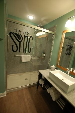 The Hotel SYNC: Luxury Shower