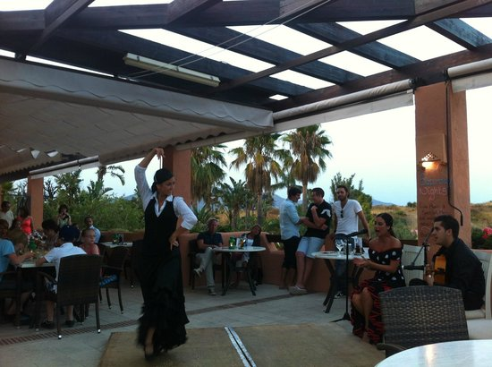 El Soto de Marbella Restaurant: Flamenco evening on a Wednesday during Summertime