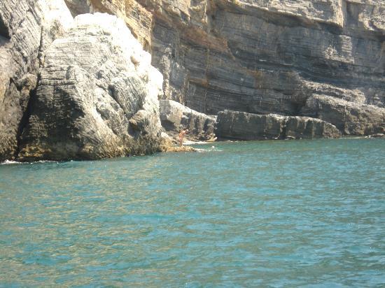 Villa I Poggioli: Dietro all'Isola della Palmaria