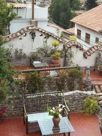 Uno De Los Patios Terraza Picture Of Casa De Campo Hotel