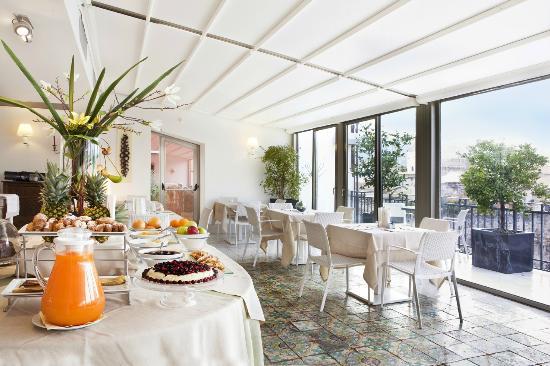 Hotel Porta Felice: roof garden
