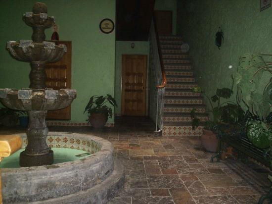 Hotel Juarez: lovely lobby