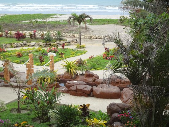 Canoa Beach Hotel: View from the room
