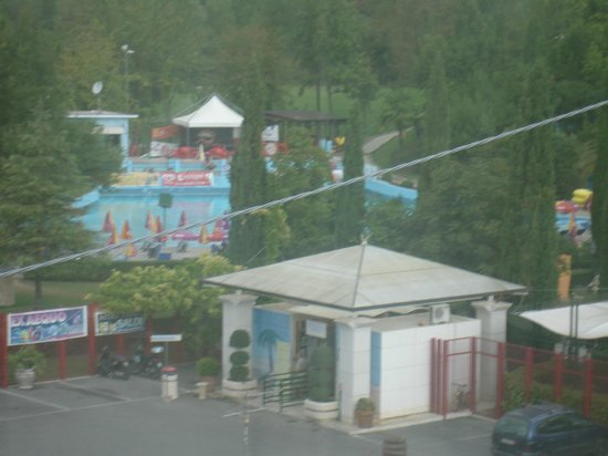 Best Western Hotel Rocca: Ingresso parco acquatico