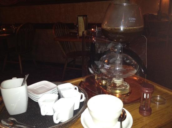 JJ's at the Copper Pot : coffee for dessert