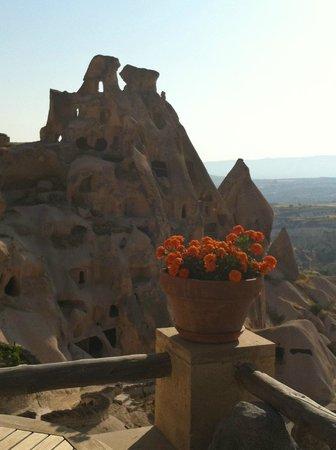 Argos In Cappadocia: Vista do café da manhã