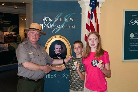 Andrew Johnson National Historic Site: New Junior Rangers