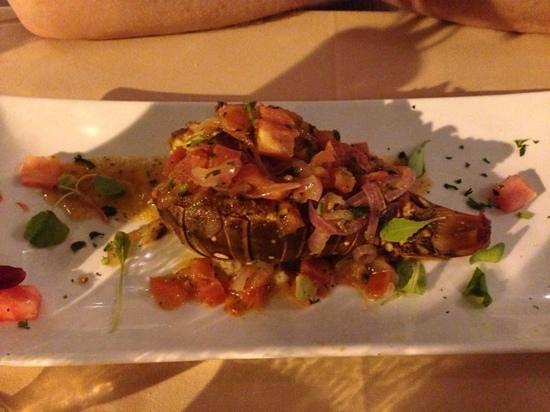 Van Breugel's: grilled lobster correct
