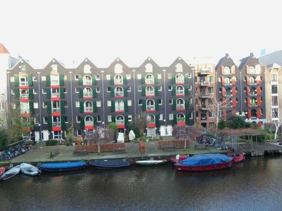 Ibis Amsterdam Centre Stopera: Vista desde la ventana de la habitación