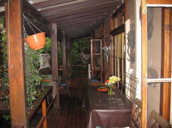 Cassowary House Veranda