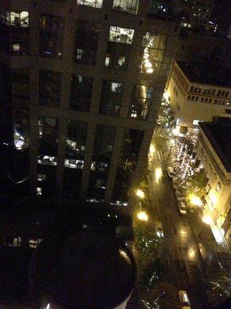 شيراتون سياتل هوتل: View 18th floor Pike Tower 