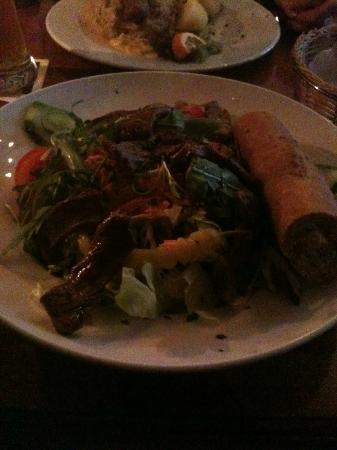 Ranke 2: Gaucho salad with roasted beef filet