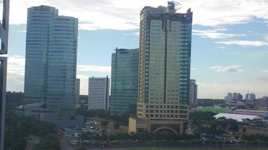 Crimson Hotel Filinvest City, Manila: view from our room