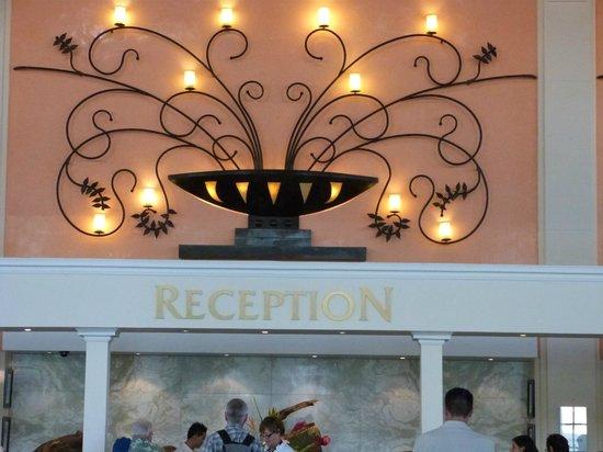 Sandos Playacar Beach Resort: recepción del hotel