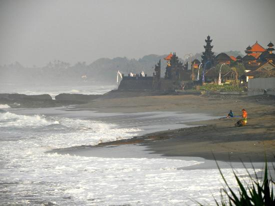 Coconuts Guesthouse Canggu : View from Canggu up to Echo
