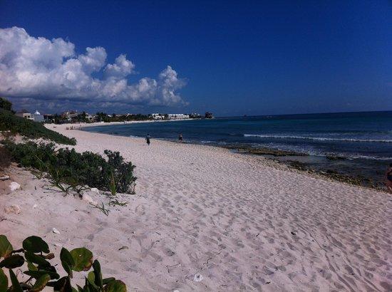 Grand Bahia Principe Tulum: Playa tulum